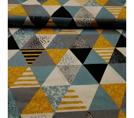 Trójkąty patchwork