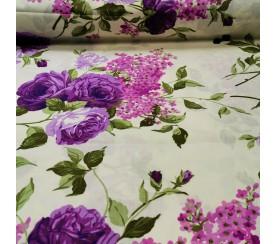 Kwiat w fioletach