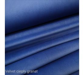 Velvet gładki 0,1 mb - ciepły granat